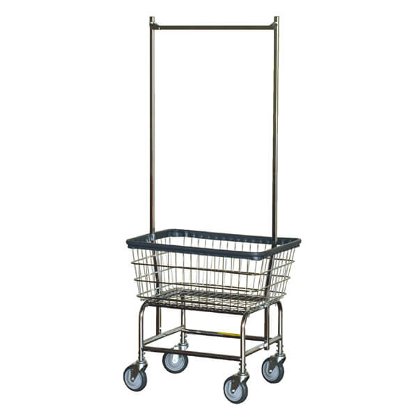 LAUNDRY CART DOUBLE POLE