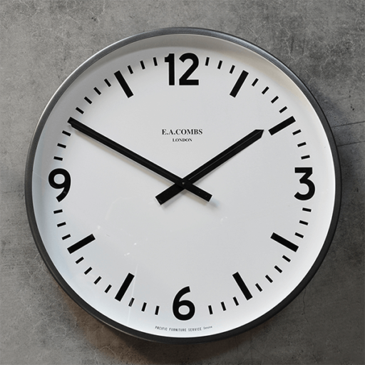 E.A. COMBS WALL CLOCK